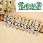Rose Flower Cutting Dies Stencil Scrapbook Card Album Paper Embossing Hand Craft