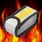15x64x50mm Fireproof Explosionproof Safety Bag Lipo Battery Protection Guard Charging Bag