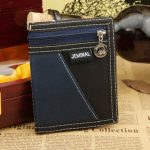Men Women Canvas Sports Folding Short Wallet Personality Students Leisure Purses