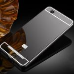 Luxury Plating Frame Mirror Back Case for Xiaomi Redmi 4A/Redmi 4A Global Edition