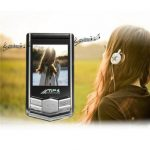"""1.8"""" LCD Screen MP3 MP4 Music Movie Novel Media Player W/ FM For Running Sports"""