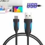 Vention A04 USB2.0 Micro USB 2m/6.6ft Data Sync Charging Cable For Samsung Xiaomi Huawei