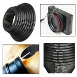 18pcs Step Up Down Lens Filter Ring Adapter Set 37 – 82mm For Canon Nikon