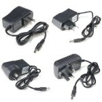 5.5MM 2.1MM AC100-240V to DC 5V 2A Power Supply Wall Charger Adapter Converter