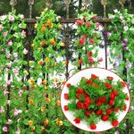 2m Artificial Flower Rose Leaf Vine Ivy Garland