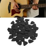 100 pcs 0.71mm Celluloid Guitar Picks For Acoustic Guitar Bass