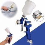 Mini Air Spray Car Body Detail Touch Up Coat Paint Sprayer Sptot Repair HVLP