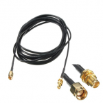 3m RP-SMA Coaxial Pigtail Extension Cable For WiFi LAN WAN Router Antenna