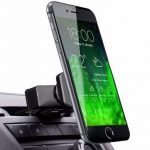 360 Magnetic Car Phone Holder CD Slot Air Vent Mount Holder Stand For Cell Phone iPhone GPS