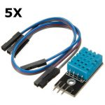 5Pcs KY-015 DHT11 Temperature Humidity Sensor Module For Arduino