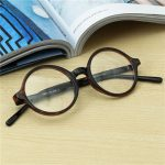Men Women Vintage Round Eyeglass Frame Full-Rim Retro Glasses Optical Eyeglasses