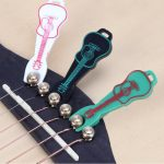 Cute Guitar Shape String Pin Puller for Ukulele Guitar