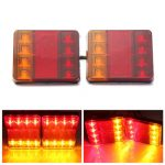 12V LED Van Truck Trailer Stop Rear Tail Brake Light Indicator Lamp