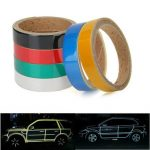 2cmx3meter Reflective Car Sticker Safety Warning Decoration Tape
