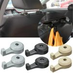 2pcs Universal Car Auto Headrest Luggage Bags Hanger Humanized Hook Holder