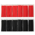 79Pcs Waterproof Heat Shrink Tube Terminal Wire Splices Butt Connector