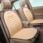 Car Seat Cushion Therapy Massage Cover Padded Bubble Foam Beige