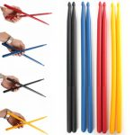 1 Pair of 5A Drumsticks Stick Nylon for Drum Lightweight for Drummer Durable