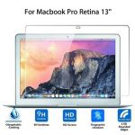 Explosion Proof Ultra-thin Toughened Tempered Glass Screen Protector For Macbook Pro Retina 13""