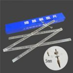 500mm×8 times Drawing Magnifying Ruler Scaling DIY Drawing Tool