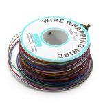 0.55mm 8 Color Circuit Board Single-Core Tinned Copper Electronic Wire Fly Line Jumper Cable