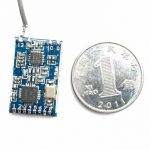 2.4G 8CH Micro Frsky D8 RSSI Two Way Data Return Compatible Receiver PPM SBUS Output