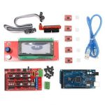 Geekcreit RAMPS 1.4 Mega2560 A4988 2004LCD Controller 3D Printer Kit For Arduino Reprap