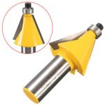 1/2 Inch Shank 22.5 Degree Chamfer And Bevel Edging Router Bit Woodworking Tool