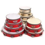 Educational Toy Musical Tambourine Beat Instrument Hand Drum For Children Kids