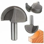 1/2 Inch Shank Woodworking Round Nose Router Bit Cutter