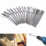 6-40mm Flat Spade Wood Drill Bit Hex Shank Woodworking Spade Drill Bit Hole Cutter