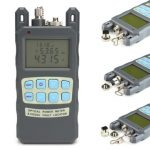1mW 5km Cable Tester Visual Fault Locator Fiber Optical Power Meter -70 to 10dBm