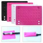 Silicone Heat Resistant Mat Anti-heat Mats for Hair Straightener Curling Iron