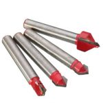 4pcs 1/4 Inch Shank Router Bit CNC Engraving V Groove Cutter