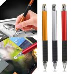 2 in1 Capacitive Pen Touch Screen Drawing Pen Stylus For Samrtphone Tablet PC