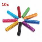 10Pcs M3 20mm Knurled Standoff Aluminum Alloy Anodized Spacer