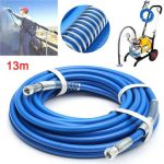 Airless Sprayer Fiber Tube 13m Length 1/4 Inch 5000PSI Airless Spray Hose