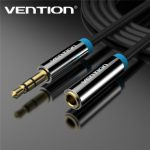 Vention VAB-B06 1.5M 3.5 mm Jack Male to Female Audio Stereo Aux Extension Cable