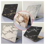 Marble Matte Hard Case Cover Top Bottom Shell For Macbook Pro 13.3 Inch