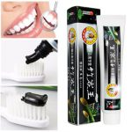 160g Black Bamboo Charcoal Tooth Whitening Cleaning Toothpaste Insect-resistant