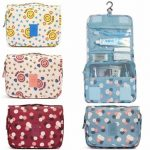 Waterproof Nylon Toiletry Bag Travel Storage Organizer Cosmetic Case Luggage