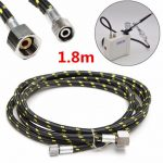 1.8m 1/4Inch to 1/8Inch Rubber Air Hose for Airbrush Spray Gun