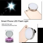 YONGNUO Mini Phone Flash Selfie LED Flash Light Clip Speedlite For iPhone 6 6s 6/6sPlus 5s SE
