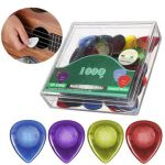 40pcs Acoustic Electric Guitar Picks Plectrum with Pick Box