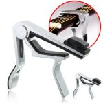 Guitar Tone Capo w/ Pick Holder For Acoustic Electric Classical Guitar