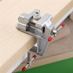 3.5inch Aluminum Mini Small Hobby Clamp On Table Vise Tool Vice