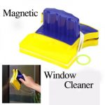 Magnetic Window Wizard Double Side Glass Wiper Cleaner Useful Surface Brush