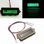 12V Lead-acid Lithium LiPo Battery Power Capacity LCD Indicator Tester Voltmete