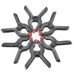 6Pcs Background Clips Backdrop Stand Clamps For Photo Studio Light Photography