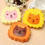 Squishy Simulation Super Slow Rising 10cm Cartoon Cat Cell Phone Toys Decoration
